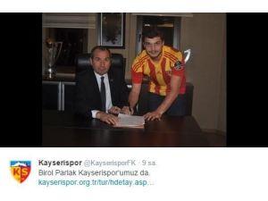 Birol Parlak Kayserispor'da