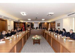 Mtsob Müteşebbis Heyet Toplantısı Çakacak Başkanlığında Yapıldı