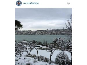 Mustafa Koç, İnstagram'dan En Son Bu Fotoğrafı Paylaştı