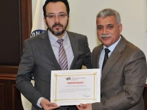 TÜİK'ten ADÜ Rektörü Cavit Bircan'a Teşekkür