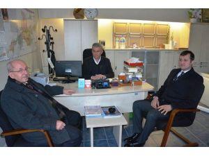 Başkan Albayrak Veliköy Muhtarlığını Ziyaret Etti