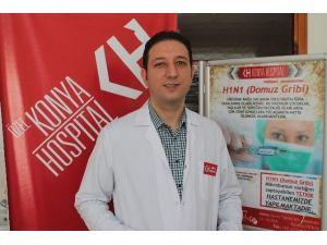 Özel Konya Hospital'da Domuz Gribi Testi