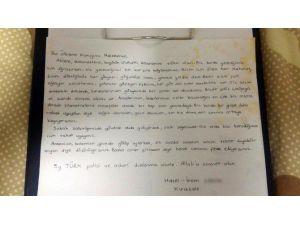 Hazal Ve İrem'den Operasyondaki Polislere Mektup