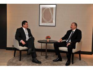 Aliyev, Davos'ta Sefcovic ile görüştü
