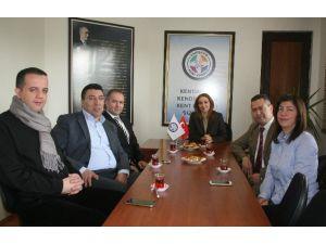 Ziraat Mühendisleri Odası'ndan Eskişehir Kent Konseyi'ne Ziyaret