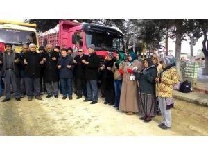 Hüyük'te AK Partili Kadınlardan Bayır-bucak'a Yardım