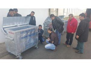 Çaycuma'da Çöp Toplamada Yeni Sistem