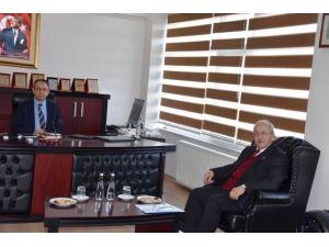 Başkan Albayrak'tan Kaymakam Metin Kubilay'a Ziyaret