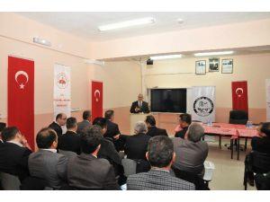 Mahmut Oğuz Eğitim Yöneticileri İle Bir Araya Geldi