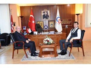 Başkan Albayrak Çerkezköy Belediye Başkanlığını Ziyaret Etti