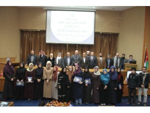 Ürdün'de SAÜ'lü Öğrencilere Tören