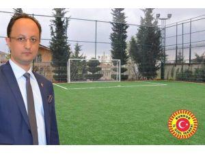 Burdur Özel İdare'den 155 Bin TL'lik Futbol Sahası