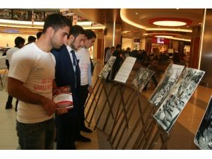 Azeri Öğrencilerden Katliam Sergisi