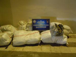 Malatya'da 206 kilo esrar ele geçirildi