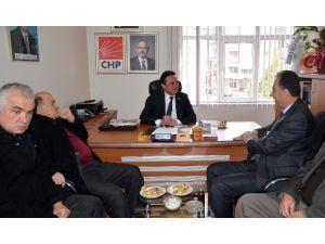 Butso'dan Siyaset Ve Bürokrasi Ziyaretleri