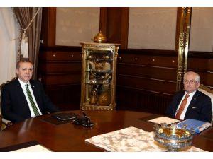 Cumhurbaşkanı Erdoğan YSK Başkanı Güven'i Kabul Etti