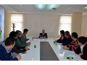 Bünyan'da Altyapı Yatırım Koordinasyon Toplantısı Yapıldı