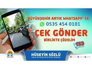 Büyükşehir Whatsapp'ta