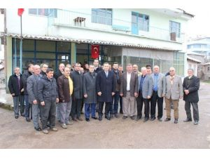 Aksoy, Balcılar Köyünü Ziyaret Etti