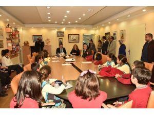 Başkan Yücel, Öğrencileri Ağırladı