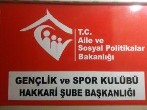 Hakkari'de ASP Gençlik Ve Spor Kulübü Açıldı