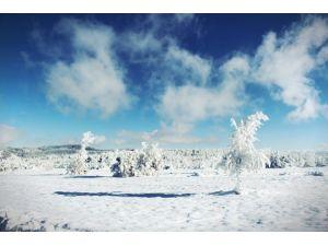 Gördes'ten Kartpostallık Kar Manzaraları
