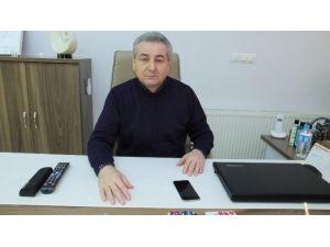Burhaniye'de Ali Galip Baş, Emlakçılara Başkan Oldu