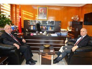 Başkan Albayrak'tan Defterdar Malanlı'ya Ziyaret
