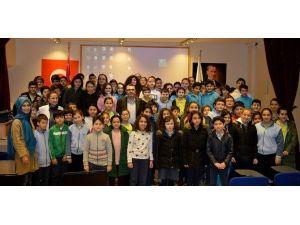 Büyükşehir Belediyesinden Öğrencilere Çevre Semineri