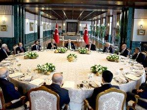 Cumhurbaşkanlığı Sofrası'nda 'terör ve terörle mücadele' konuşuldu