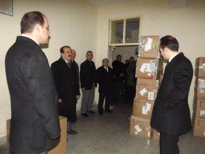 Seydişehir'de Öğrencilere Kıyafet Yardımı Yapıldı
