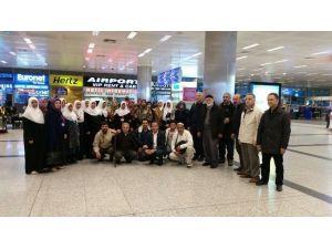 Roman Vatandaşlar Umre Ziyaretinden Döndüler