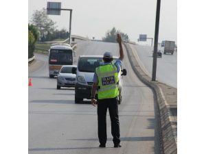 2015'in Son Ayında 610 Araç Trafikten Men Edildi