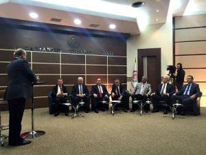 Başkan Ertekin, Bloomberg TV'de Şanlıurfayı Anlattı