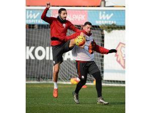 Galatasaray'da Osmanlıspor hazırlıkları devam etti