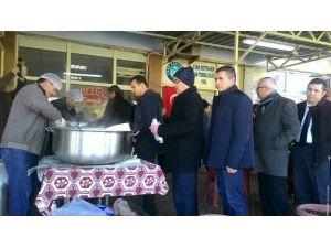 Türk Eğitim-sen Çan Temsilciliği'nden Üyelerine Dönem Sonu Pilavı
