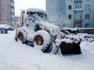 Yozgat'ta Kar Kalınlığı 40 Cm'e Ulaştı