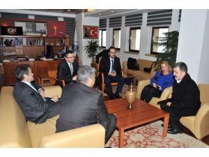 Başkan Tiryaki, Gürcistan Ve Yunanistan Büyükelçileri İle Biraraya Geldi