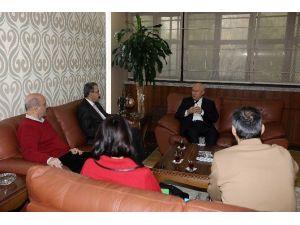 Yeşilay Cemiyeti'nden Başkan Yaşar'a Ziyaret