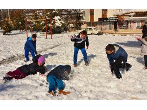 Çameli'de Okullara Kar Tatili