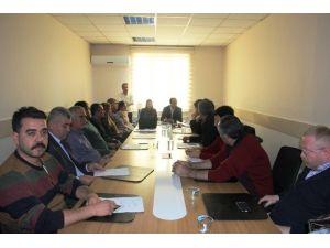 Van Halk Sağlığı Müdürlüğü'nde Değerlendirme Toplantısı