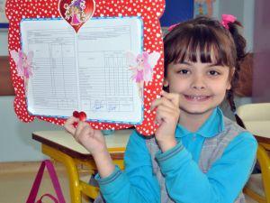 Edirne'de 55 bin 874 öğrenci karne sevinci yaşadı