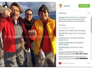 Göztepe Instagram Hesabı Başkan Sepil'e Emanet