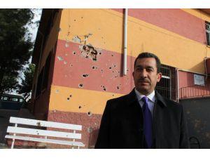 'Mermi düşen okullar bakım-onarım için ihaleyi bekliyor'