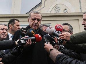 Erdoğan: Okula saldırı terör örgütünün adi girişimlerini ortaya koyuyor