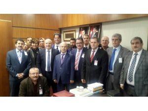 Akşehir Belediyesi'nden Milletvekili Baloğlu'na Ziyaret