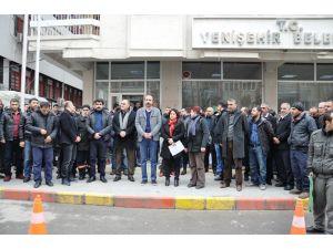DBP'li Yenişehir Belediyesi'nin meclis üyeleri gözaltına alındı