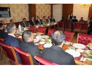 Başkan Çakır, ASKON'un Konuğu Oldu