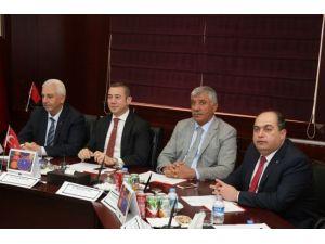 Uslu, Bölgesel Kalkınmada Güçbirliği Platformu Toplantısına Katıldı