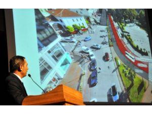 Başkan Uysal Pazar Yeri Ve Ulaşımla İlgili Projelerini Anlattı